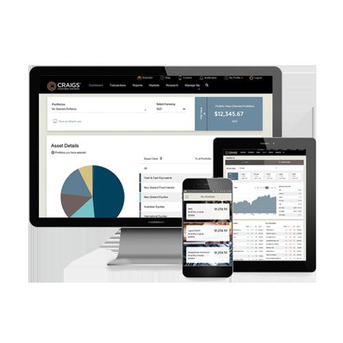 Client Portal and mobile app