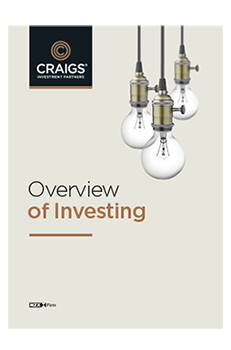 Overview of Investing front cover