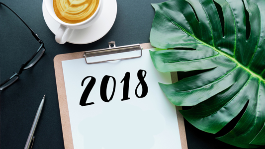 secondary tile Six News Years Resolutions for investors in 2018